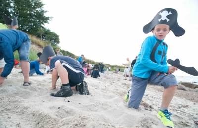 Piraten am Strand